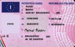 patente-di-guida-italiana-fronte