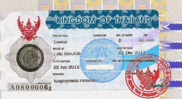 Ufficio Visti Per La Cina Milano : Visto per la thailandia u pattaya thailandia guida e consigli di